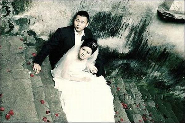 Весілля під час землетрусу в Китаї