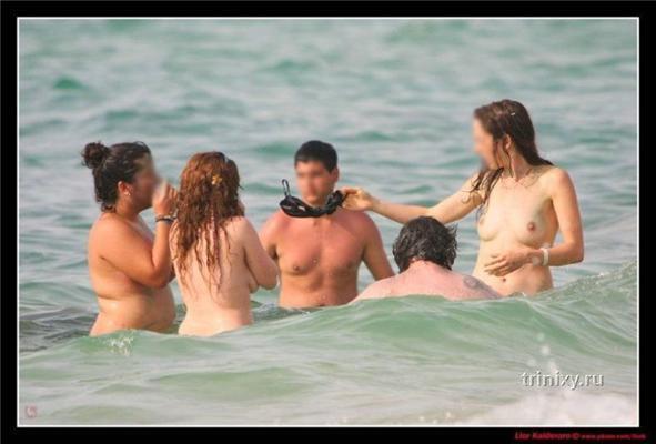 Лето, пляж, симпатичные девушки. Хочу туда...