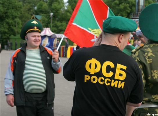 День прикордонника в Москві. Ох, погуляли ...