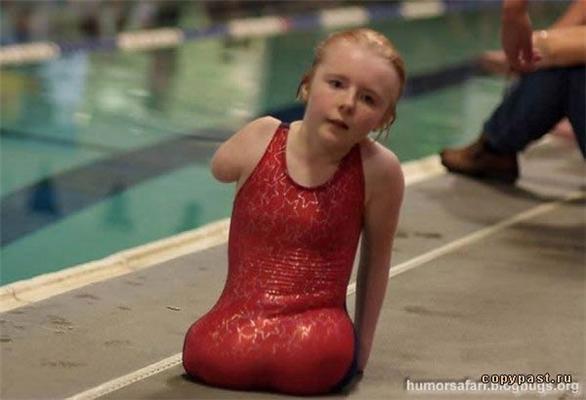 Жесть. Самая мужественная пловчиха в мире