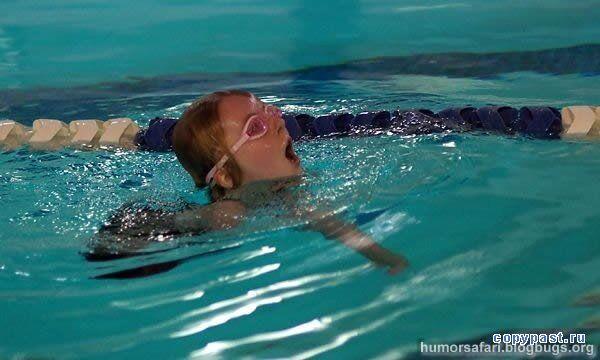Жесть. Сама мужня плавчиха в світі