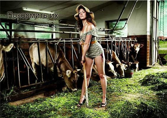 Різниця між сільськими дівчатами і міськими. Наочно