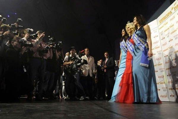 Мисс Евро-2008 стала чешская блондинка