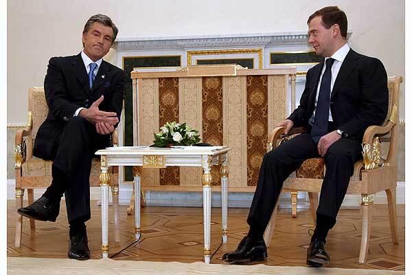 Ющенко дав Росії державні гарантії