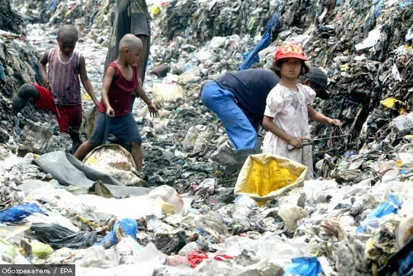 В Індонезії 20 дітей померли від голоду