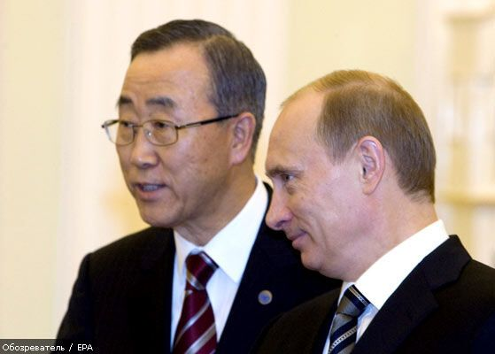 Популярніше Путіна в світі - тільки Пан Гі Мун