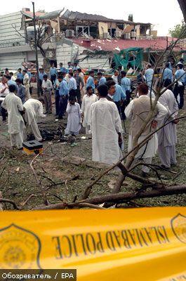 У Пакистані підірвали данське посольство, є жертви