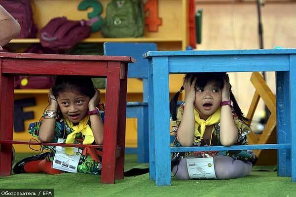 В Індонезії сталися відразу два землетруси