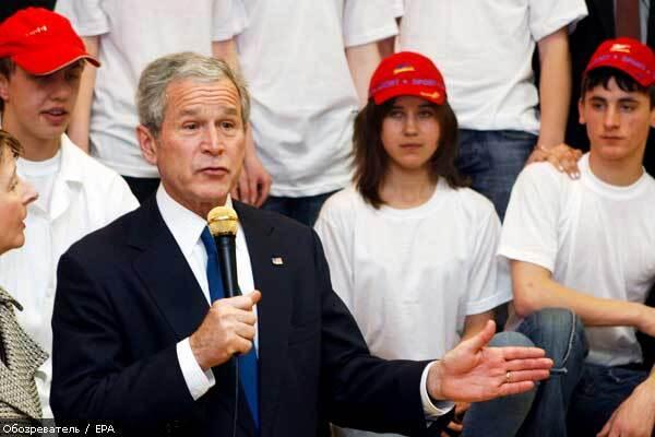 Бушу сподобався День дурня у Черновецького