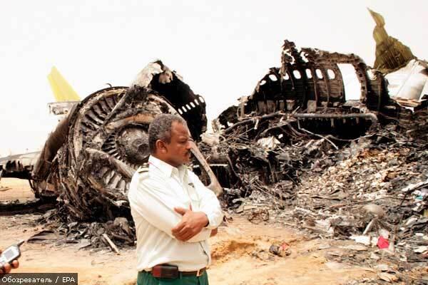 Загибель українців в авіакатастрофі в Судані підтверджена