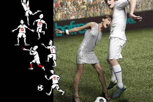 Знаменитий футболіст знявся в рекламі жіночої нижньої білизни
