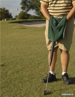 Що робити, якщо приспічило на поле для гольфу?