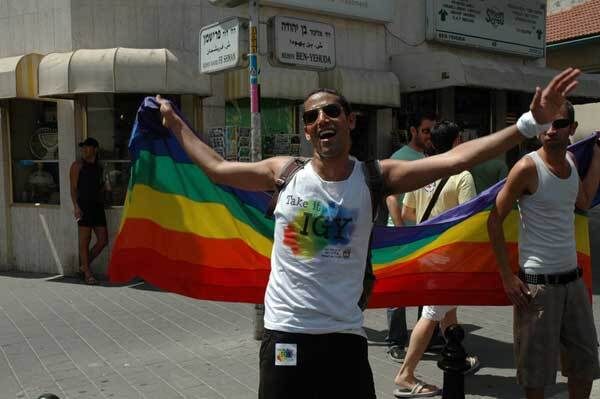В Ізраїлі не тільки прапори блакитні
