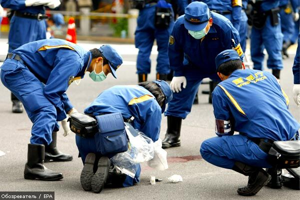 У центрі Токіо якудза зарізав сімох людей