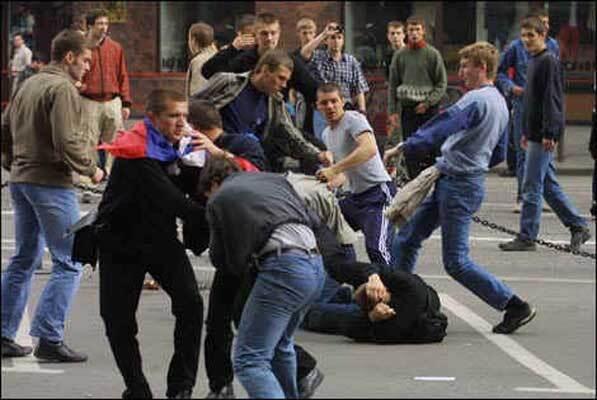 Побоїще в Москві: слов'яни проти кавказців