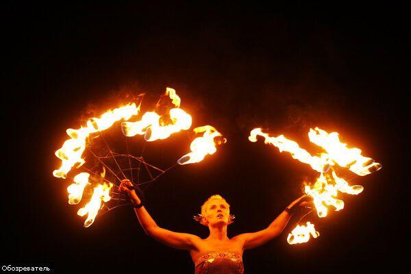 Kiev FIRE Fest-2008: Огонь, иди за мной…