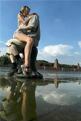 Спекотні поцілунки по-дорослому. З мовою по яснах ...