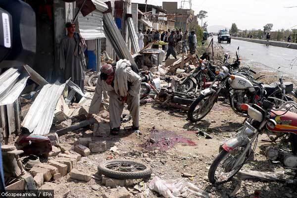 НАТО разбомбило 12 мирных афганцев