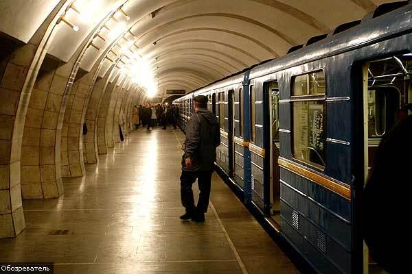 В киевском метро очередное ЧП