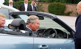 Автомобиль принца Чарльза будут заправлять вином