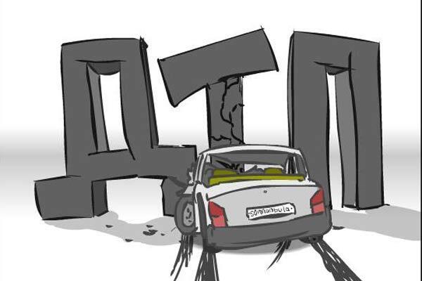 Пенсионер за рулем снес восемь машин