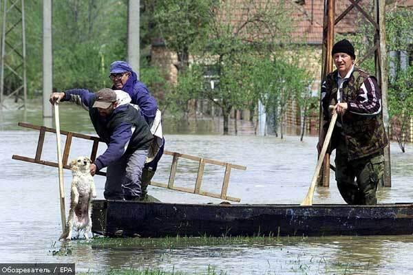 Наводнения в Словакии уносят жизни людей