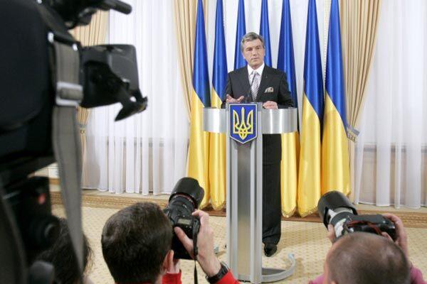 Ющенко расскажет о своих успехах