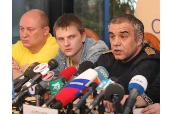 Пираты захватили украинских моряков по наводке