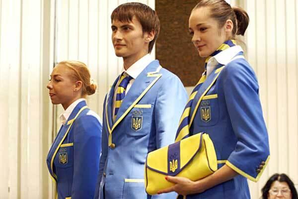 """Олимпийцев одели """"по-модньому"""" и проводили"""
