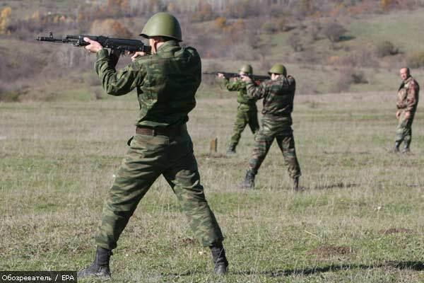 В Южной Осетии обстреляли миротворцев