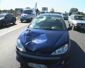 Женщина-водитель насмерть сбила пешехода на зебре