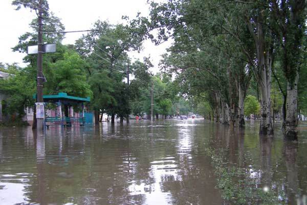 Одесса готовится к наводнению
