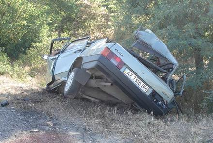 В результате ДТП в Крыму погибли 7 человек, из них 3 детей