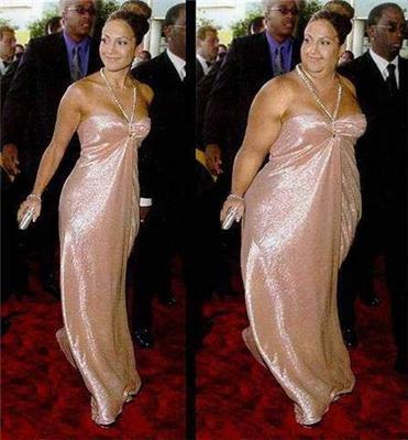 Если бы знаменитости были толстыми