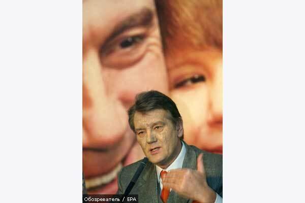 Ющенко двадцать четыре дня работал под наркозом