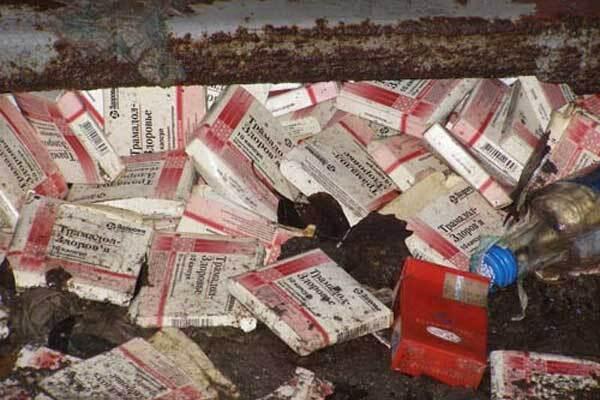 В Полтаве трамадол покупали покойники