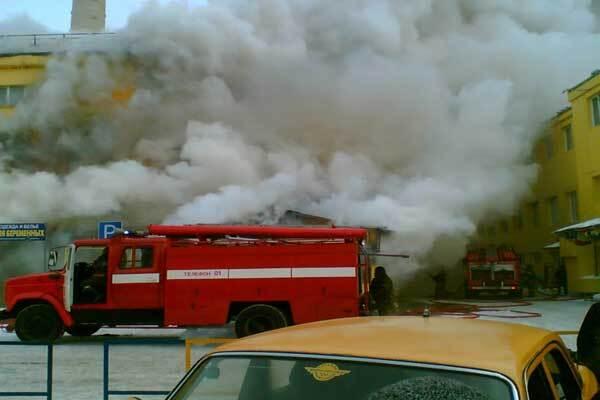 В Броварах сгорели десятки торговых точек