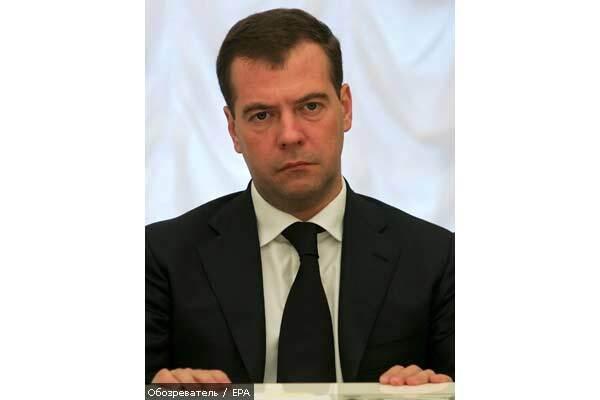 Медведев назвал войну с Грузией единственно возможной мерой