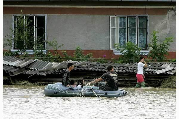 В Закарпатье подтопленных домов нет