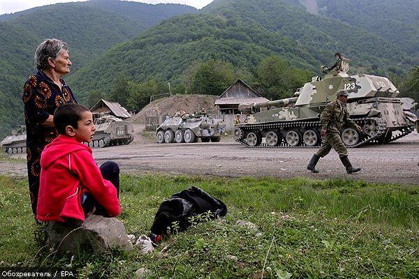 Зверства украинских наемников в Цхинвали