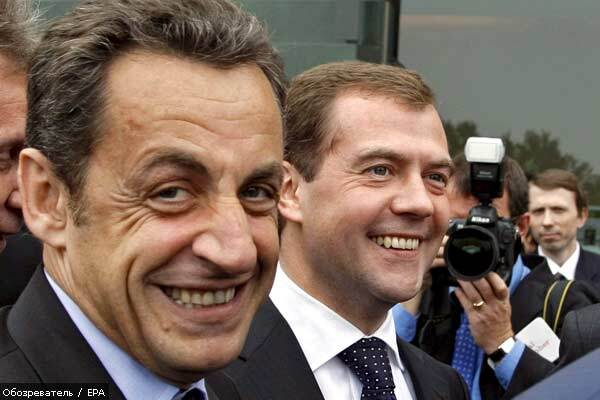 Саркози разведет россиян и грузин