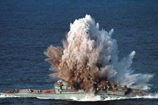 Российские войска потопили грузинские корабли