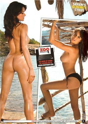 Seren Nogiet - спекотна англійська модель для журналу ZOO