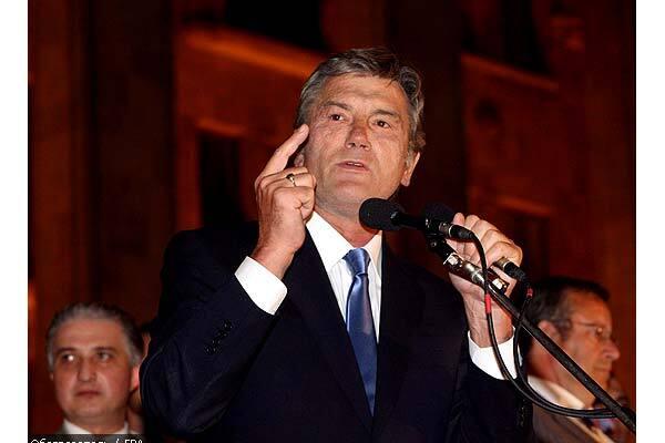 Ющенко ніколи не підтримував Грузію