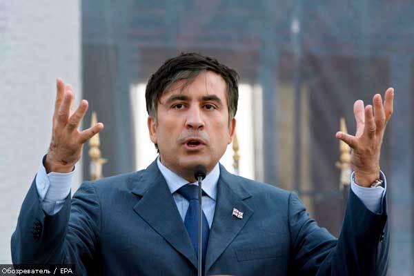 Саакашвілі обіцяє відновити рух до Вірменії