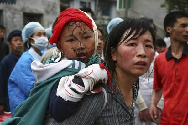 В Китае землетрясение разрушило южную провинцию