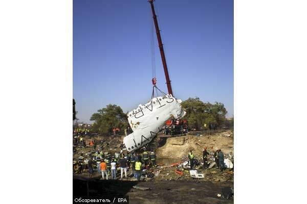 Разбившийся в Испании самолет имел неполадки перед взлетом