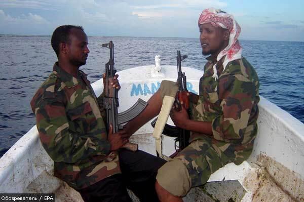 Сомалийские пираты захватили еще одно судно