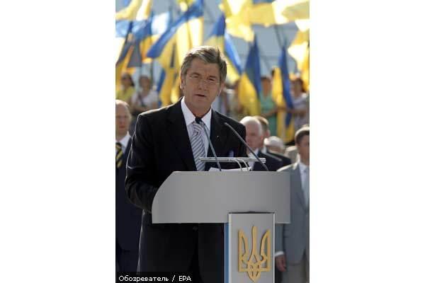 Ющенко требует ввести мораторий на противостояние в Раде