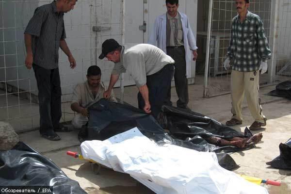 12 человек погибли при атаке смертника в Ираке